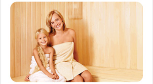 Mom and Me Holiday Spa package